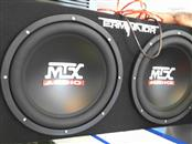 MTX AUDIO Car Speakers/Speaker System TNE212D